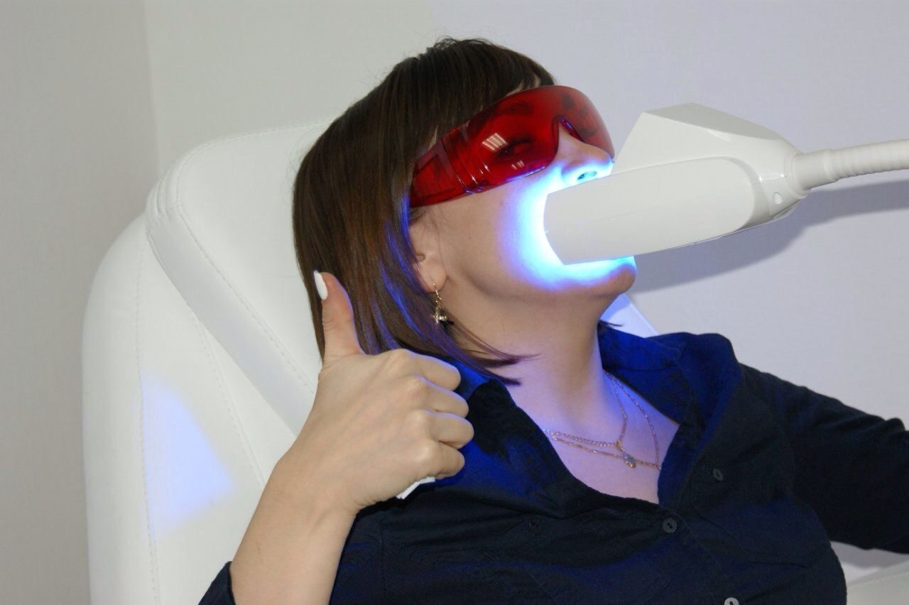 отбеливание зубов реальные фото до и после